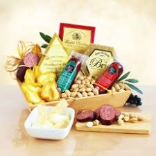 Meat And Cheese Baskets Meat And Cheese Gift Baskets California Delicious