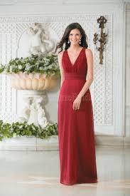 l174011 long v neck lace u0026 belsoie tiffany chiffon bridesmaid dress
