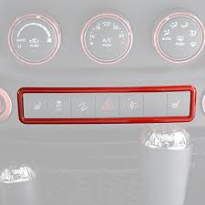 jeep wrangler light switch opar red jk jeep wrangler emergency light switch cover trim jk