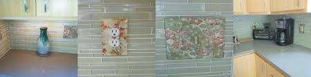 Outlet Covers For Glass Tile Backsplash by Clear Glass Photo Gallery