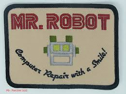 halloween patches mr robot fsociety tv show high quality patch iron sew on free