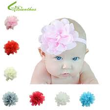 flower bands new baby headbands infant elastic hairbands kids children