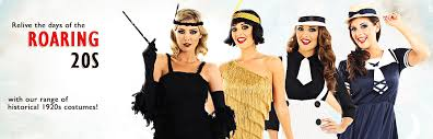 20s and gangster costumes mega fancy dress
