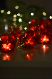 red string lights for bedroom valentines day red rose flower fairy string lights 20 led battery