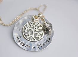 s day necklace with children s names necklace s day necklace personalized mothers