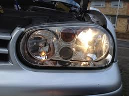 how to change mk4 headlight bulbs the easy way