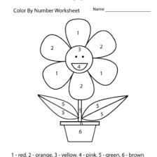 free preschool color matching worksheet colors worksheets for