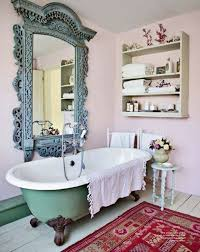 bathroom cabinets shabby chic bathroom pink bathroom mirror pink