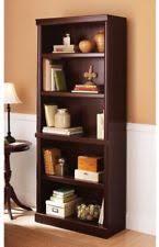 dark wood tone bookcases ebay