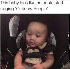 John Legend Meme - baby john legend black twitter know your meme