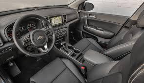 kia sportage interior 2017 kia sportage ex review new look for an old favorite nerdwallet
