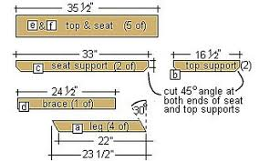 Plans For Building A Picnic Table by How To Build A Kids Picnic Table Plans Hunker
