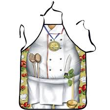 aliexpress com buy 3d funny apron police chef kitchen apron man