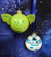 wars r2d2 and yoda diy ornaments craft warehouse