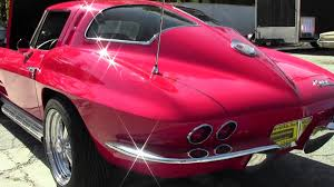 what year was the split window corvette made 1963 corvette split window coupe showcar