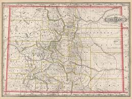County Map Of Colorado Railroad And County Map Of Colorado Barry Lawrence Ruderman