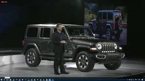 jeep wrangler grey the new jeep wrangler jl has made its l a debut news top speed