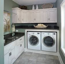 Front Load Washer With Pedestal Washer And Dryer Pedestal Laundry Room Traditional With Blue