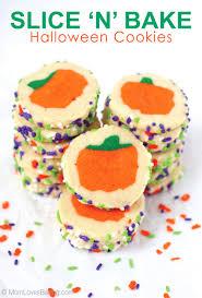 slice u0027n u0027 bake halloween cookies