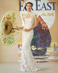 inspired wedding dresses wedding dresses inspired by global destinations martha stewart