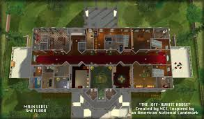 mod the sims nci the off white house an inspired american