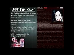 Know Your Meme Creepypasta - jeff the killer video gallery sorted by oldest know your meme