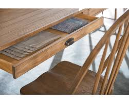 taper turned dining table magnolia home