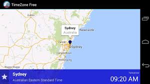 Australian Time Zone Map by Timezone Free Android Apps On Google Play