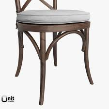 Restoration Hardware Side Table by Madeleine Side Chair By Restoration Hardware 3d Model Max Obj 3ds