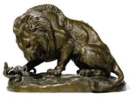 barye lion sculpture antoine louis barye lion and serpent antoine barye