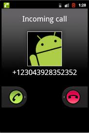 android emulator how to make a dummy phone call from android emulator device