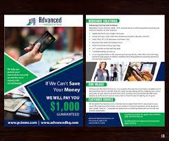 Credit Card Design Template Elegant Playful Flyer Design For Advanced Merchant Services By