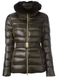 herno jacket sizing herno fox fur trim padded jacket 8951 women