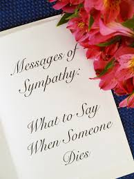 thanksgiving message for friends messages of sympathy what to say when someone dies holidappy