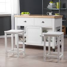 furniture kitchen white glaze oak wood kitchen chart island with
