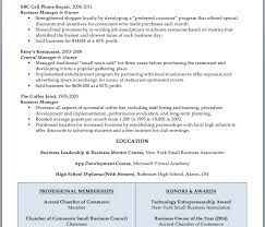 Business Owner Resume Example by Small Business Owner Resume Sample Resume Example