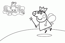 peppa pig friends coloring pages print coloring