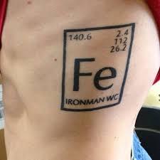 chemistry style sport tattoo tattoomagz