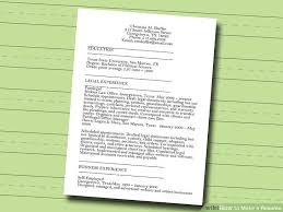 How To Write A Resume For Child Care Job by 7 Ways To Make A Resume Wikihow