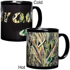 Color Changing Mugs Color Changing Camouflage Mug By Mossy Oak Yugster