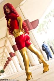 Dark Phoenix Halloween Costume Men Dark Phoenix Jean Grey Cosplay Costume Cosercosplay