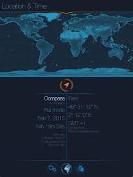 Daylight World Map by Starmap The Astronomy App