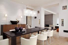 Pendant Lights For Low Ceilings White Chairs With Black Wooden Table For Amazing Dining Room Ideas
