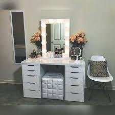 professional makeup desk vanity dresser ikea obrasignoeditores info