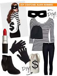 Halloween Costumes Girls Age 5 Diy Thift Shop Halloween Costumes Female Bank Robber Sweet