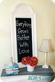 Chalkboard Ideas For Kitchen Turn A Mirror Into A Chalkboard Mom 4 Real