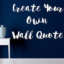 create your own wall art stickers shenra com custom wall sticker