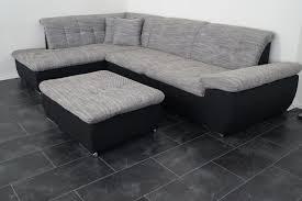 couch mit hocker l wohnlandschaften sofa lagerverkauf