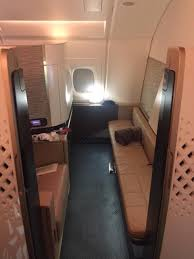 Etihad First Apartment How To Use Miles To Fly Etihad U0027s First Class Apartment With Shower