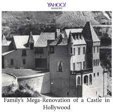 Novogratz Family Rug Family U0027s Mega Renovation Of A Castle In Hollywood